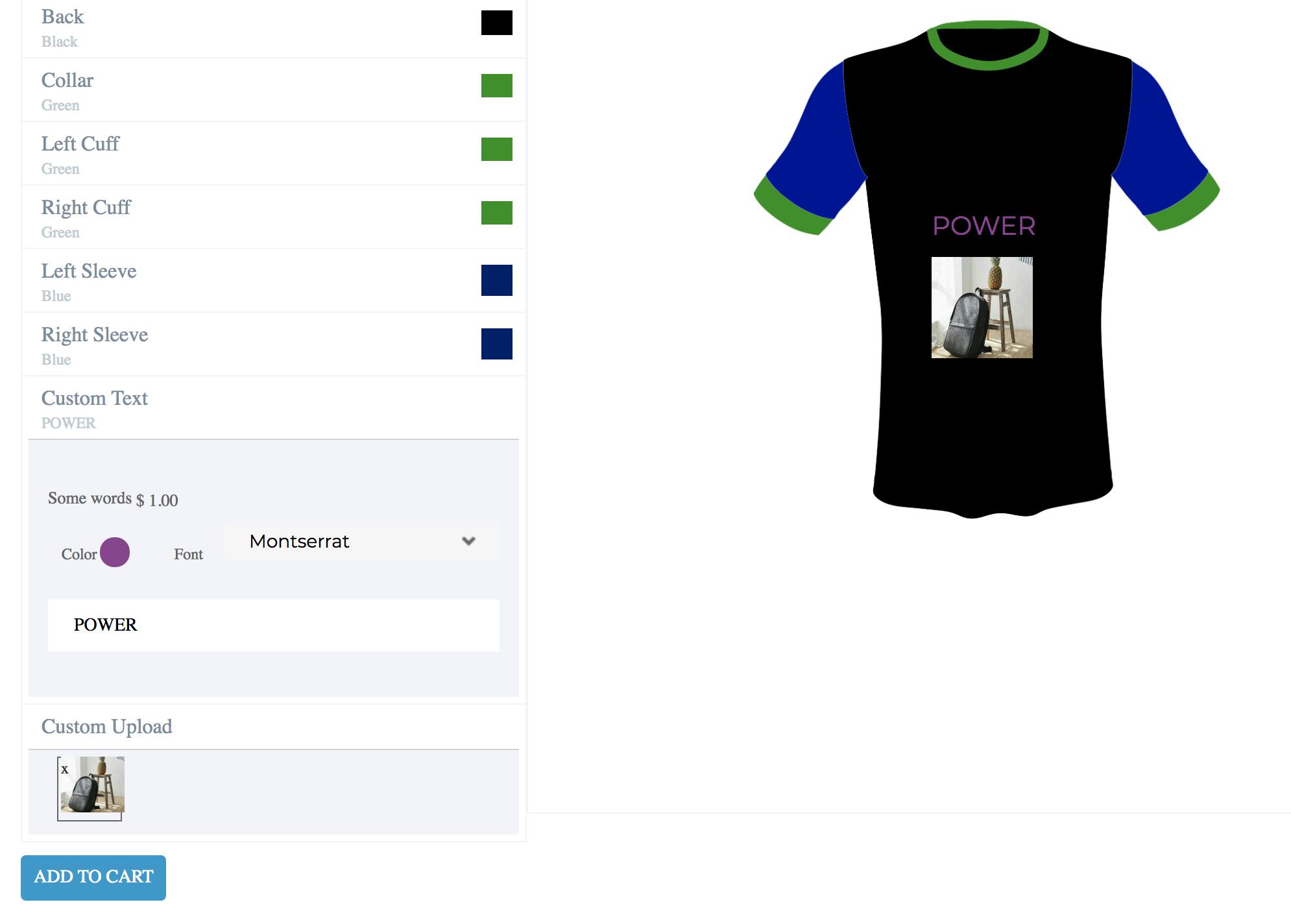 custom t-shirts and jerseys