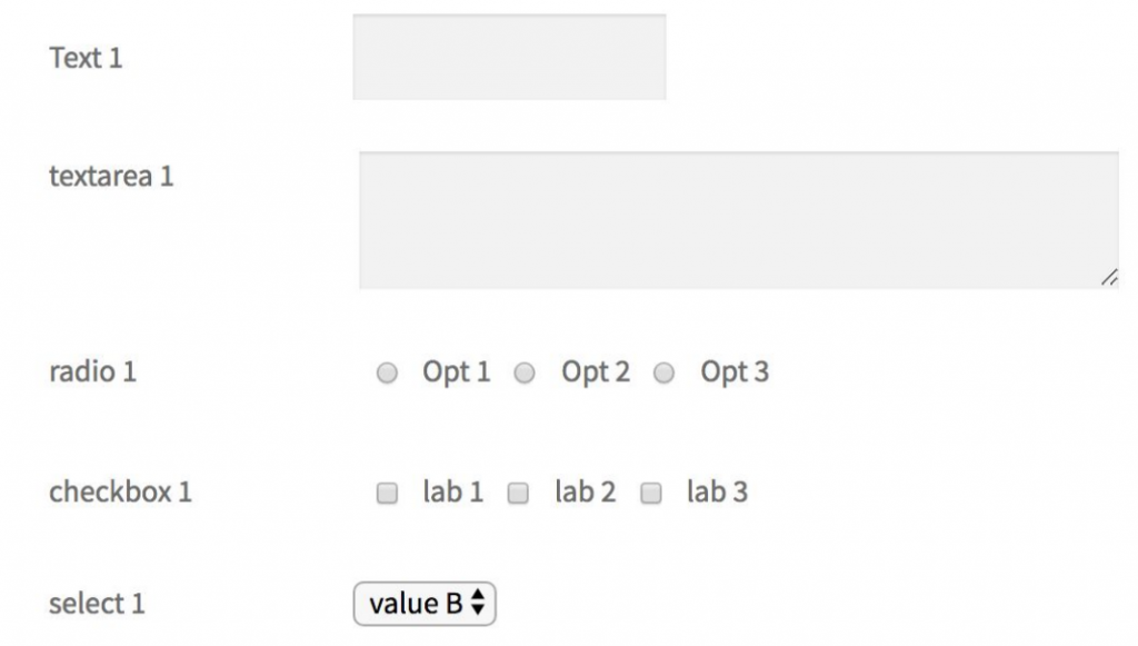 Form display at Front end